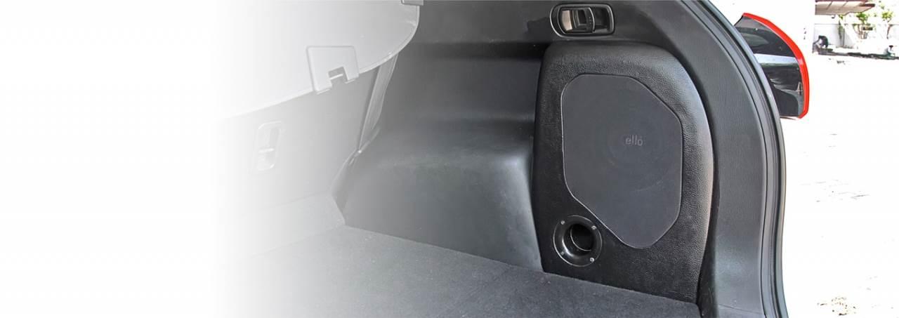 BOX PORT 6IN CX-5 2013 -  2017 BLACK / RIGHT