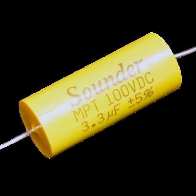 SOUNDER CAPACITOR MPT 4.7MFD/250V