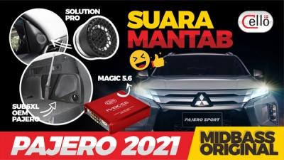 PAJERO 2021 PAKET MEDIUM S4