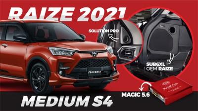 RAIZE 2021 PAKET MEDIUM S4